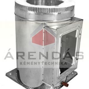 2. Szigetelt, duplafalú saválló acél fémkémény rendszerelemek